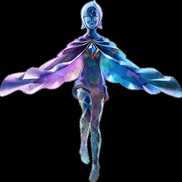 Fi from Zelda is Frozen