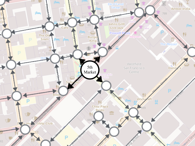 """(map of San Francisco with """"5th/Market"""" highlighted)"""