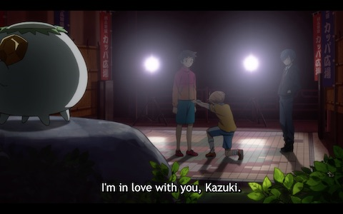 "Enta: ""I'm in love with you, Kazuki!"""