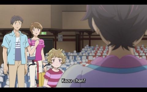 """Haruka: """"Kazu-chan?"""""""