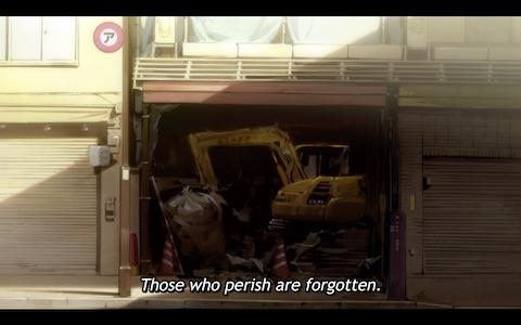 """""""Those who perish are forgotten."""""""
