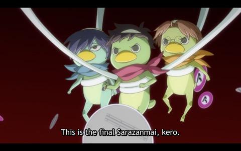 """Keppi: """"This is the final sarazanmai, kero."""""""