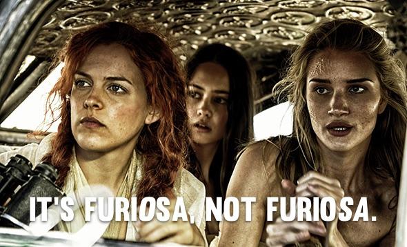 """""""It's Furi-O-sa, not Furio-SA."""""""