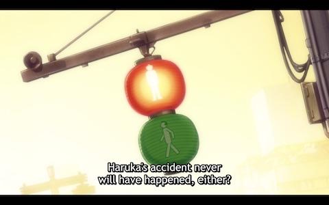 "Kazuki: ""Haruka's accident never will have happened, either?"""