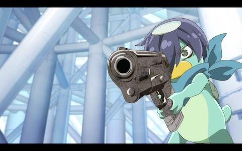 (Toi pulls out his gun.)