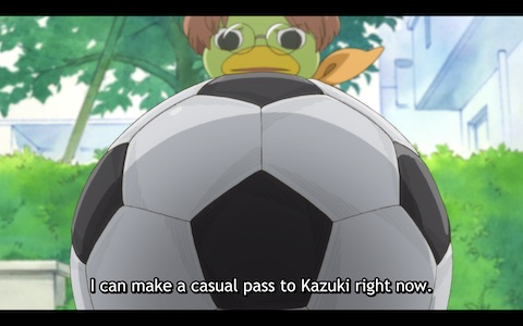 """Enta: """"I can make a casual pass to Kazuki right now."""""""